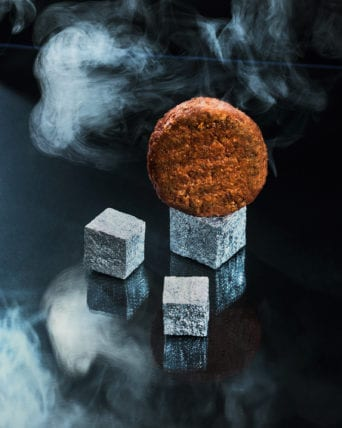 silver foil cubes beyond meat for chapter magazine by marlene mautner and erli gruenzweil 2019